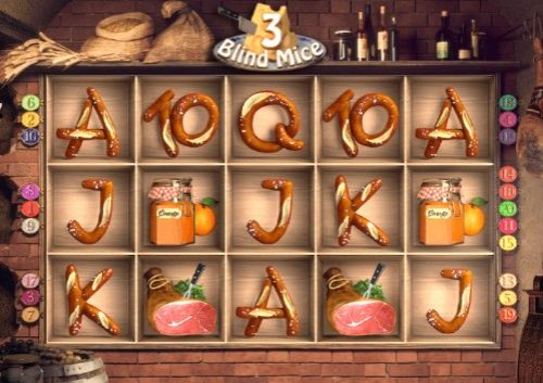 3 Blind Mice Mobile Slots UK