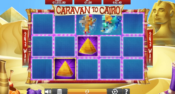 Caravan To Cairo Mobile Slots UK