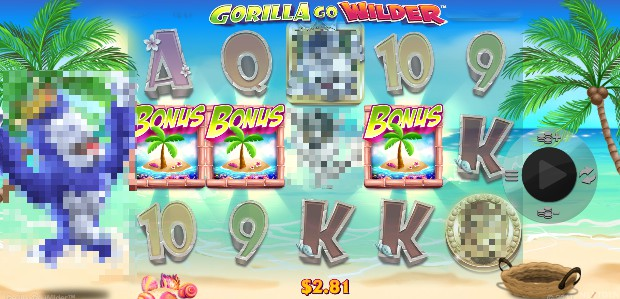 Gorila Go Wilder on mobile