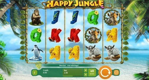 Happy Jungle Deluxe on mobile