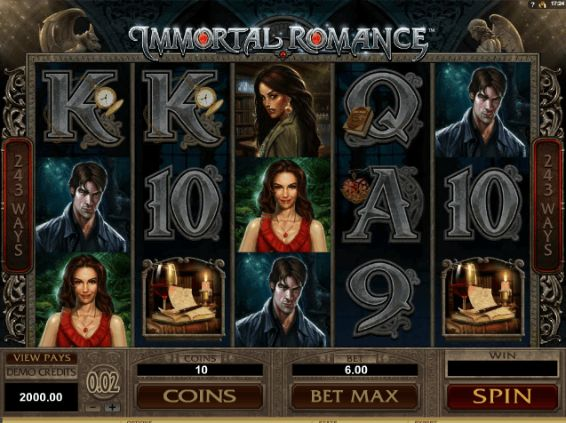 Immortal Romance Mobile Slots UK