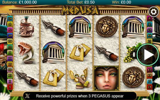 Medusa Mobile Slots UK