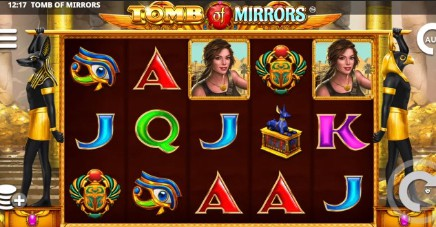 Tomb of Mirrors on mobile