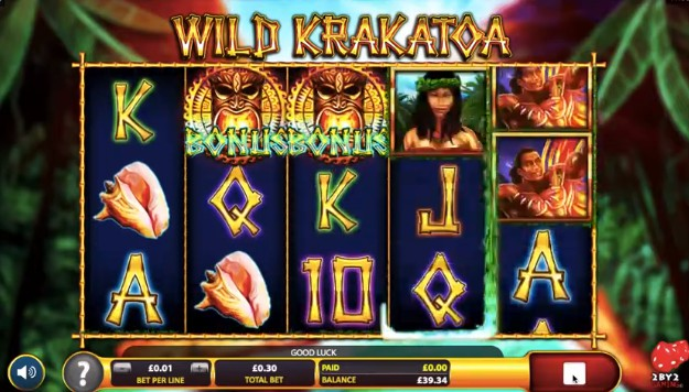 Wild Krakatoa Mobile Slots UK