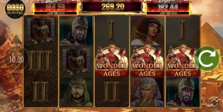 Wonder of Ages JPK Mobile Slots UK