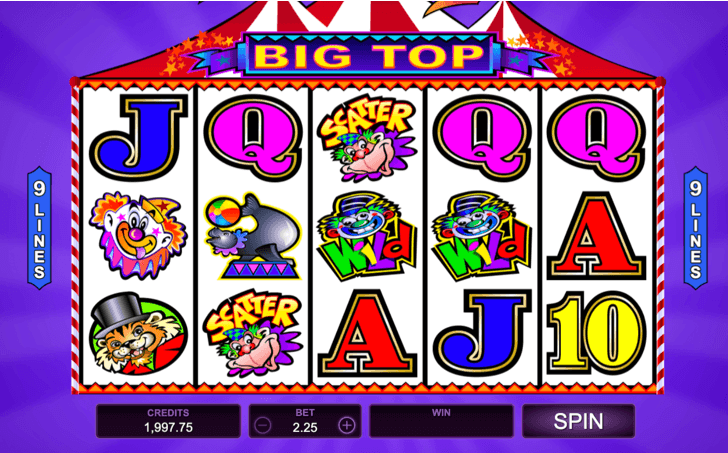 Big Top Mobile Slots