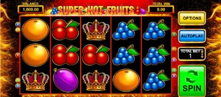 Super Hot Fruits on mobile